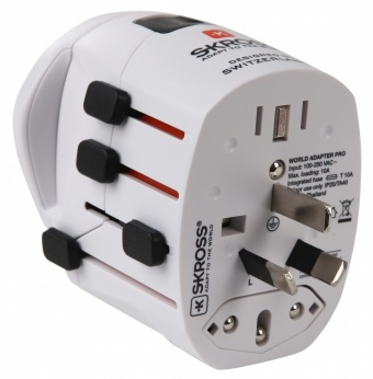 SKROSS Steckeradapter World Pro + Schuko SKROSS Steckeradapter World Pro + Schuko  ()