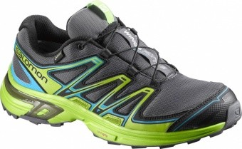 Salomon Wings Flyte 2 GTX Men Salomon Wings Flyte 2 GTX Men Farbe / color: dark cloud/g.green/s.blue ()