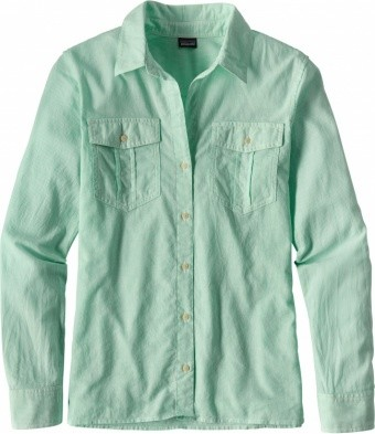 Patagonia Womens LW A/C Buttondown Patagonia Womens LW A/C Buttondown Farbe / color: sprinkle green SPKG ()