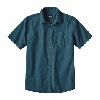 Patagonia Mens Fezzman Shirt Patagonia Mens Fezzman Shirt Farbe / color: whole wave blue WVBY ()