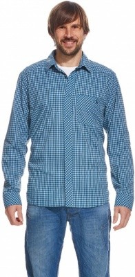 Tatonka Camden Mens LS-Shirt Tatonka Camden Mens LS-Shirt Farbe / color: iris blue ()