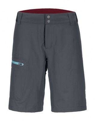 Ortovox Pelmo Shorts Women Ortovox Pelmo Shorts Women Farbe / color: black steel ()