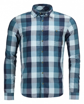 Ortovox Cortina Shirt Long Sleeve Men Ortovox Cortina Shirt Long Sleeve Men Farbe / color: blue navy ()