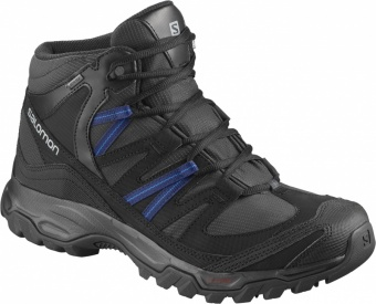 Salomon Mudstone Mid 2 GTX Salomon Mudstone Mid 2 GTX Farbe / color: phantom/black/sky diver ()