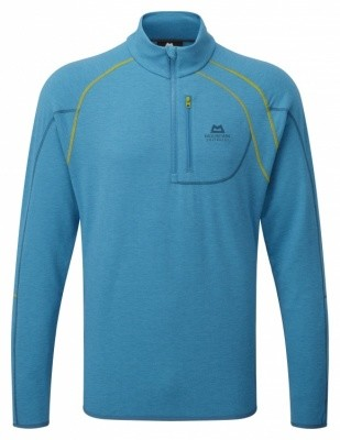 Mountain Equipment Sidewinder Zip Tee Mountain Equipment Sidewinder Zip Tee Farbe / color: lagoon blue ()