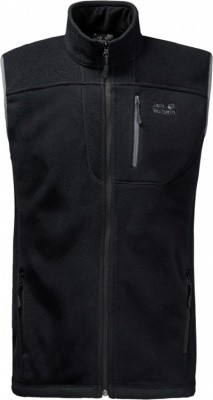 Jack Wolfskin Thunder Bay Vest Men Jack Wolfskin Thunder Bay Vest Men Farbe / color: black ()