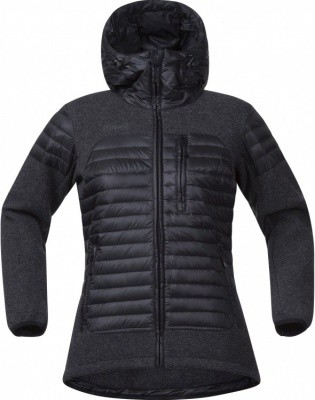 Bergans Osen Down Wool Lady Jacket Bergans Osen Down Wool Lady Jacket Farbe / color: black ()