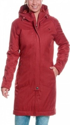 Tatonka Floy Womens Coat Tatonka Floy Womens Coat Farbe / color: russet red ()