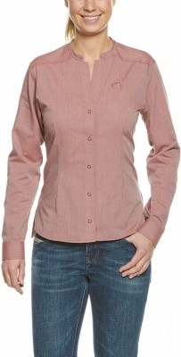 Tatonka Eldred Womens LS-Shirt Tatonka Eldred Womens LS-Shirt Farbe / color: redbrown ()