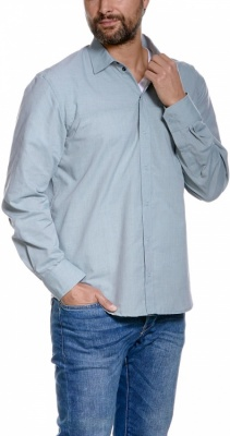 Tatonka Eldred Mens LS-Shirt Tatonka Eldred Mens LS-Shirt Farbe / color: washed blue ()