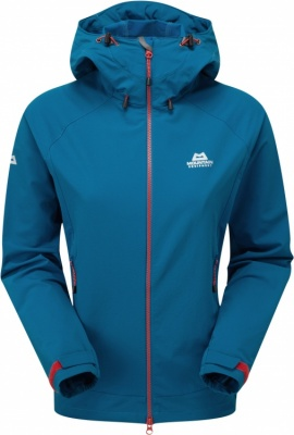 Mountain Equipment Mission Jacket Womens Mountain Equipment Mission Jacket Womens Farbe / color: lagoon blue ()