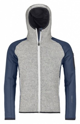 Ortovox Classic Knit Hoody Men Ortovox Classic Knit Hoody Men Farbe / color: night blue ()