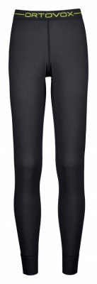 Ortovox Merino 145 Ultra Long Pants Women Ortovox Merino 145 Ultra Long Pants Women Farbe / color: black raven ()