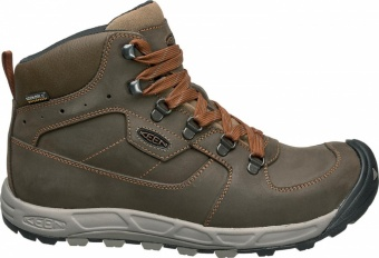 Keen Mens Westward Mid Leather WP Keen Mens Westward Mid Leather WP Farbe / color: dark olive/rust ()