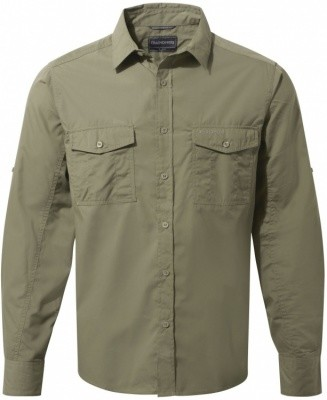 Craghoppers Kiwi Long Sleeved Shirt Craghoppers Kiwi Long Sleeved Shirt Farbe / color: pebble ()