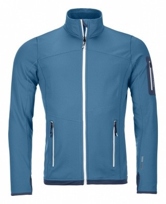 Ortovox Fleece Light Jacket Men Ortovox Fleece Light Jacket Men Farbe / color: blue sea ()