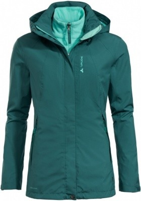 VAUDE Womens Kintail 3in1 Jacket IV VAUDE Womens Kintail 3in1 Jacket IV Farbe / color: petroleum ()