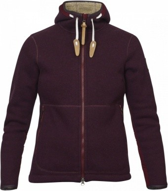 Fjällräven Polar Fleece Jacket Women Fjällräven Polar Fleece Jacket Women Farbe / color: dark garnet ()