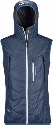 Ortovox Swisswool Light Tec Piz Boe Vest Ortovox Swisswool Light Tec Piz Boe Vest Farbe / color: night blue ()