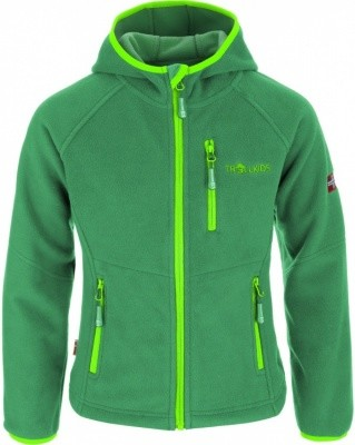 Trollkids Kids Stavanger Jacket Trollkids Kids Stavanger Jacket Farbe / color: dark green/light green ()