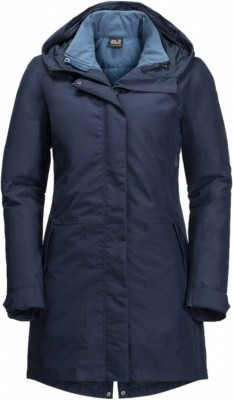 Jack Wolfskin Monterey Bay Coat Women Jack Wolfskin Monterey Bay Coat Women Farbe / color: midnight blue ()