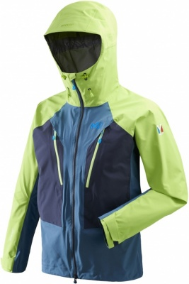 Millet Trilogy V Icon Dual GTX Pro Jacket Millet Trilogy V Icon Dual GTX Pro Jacket Farbe / color: indian/acid green ()
