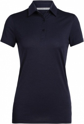 Icebreaker Tech Lite SS Polo Women Icebreaker Tech Lite SS Polo Women Farbe / color: midnight navy ()