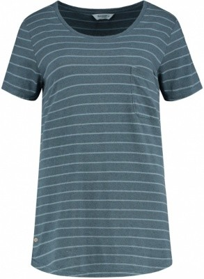 Blue Loop Originals Pure Stripe T-Shirt with Pocket Women Blue Loop Originals Pure Stripe T-Shirt with Pocket Women Farbe / color: grey/steel ()