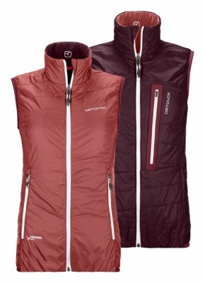 Ortovox Swisswool Light Piz Grisch Vest Ortovox Swisswool Light Piz Grisch Vest Farbe / color: blush ()