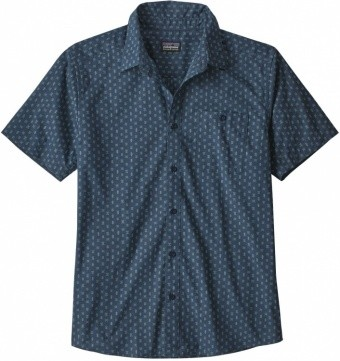 Patagonia Mens Go To Shirt Patagonia Mens Go To Shirt Farbe / color: stone blue ()