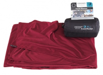 Cocoon Coolmax Travel Blanket Cocoon Coolmax Travel Blanket Farbe / color: monks red ()