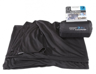 Cocoon Coolmax Travel Blanket Cocoon Coolmax Travel Blanket Farbe / color: black ()