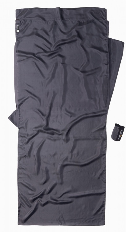 Cocoon Insect Shield TravelSheet Seide Cocoon Insect Shield TravelSheet Seide Farbe / color: rhino ()