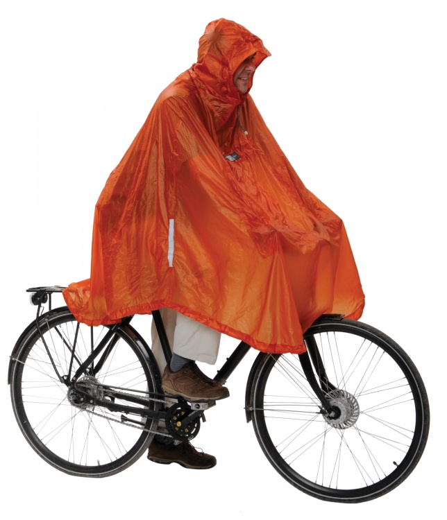 Exped Daypack & Bike Poncho UL Exped Daypack & Bike Poncho UL Farbe / color: terracotta ()