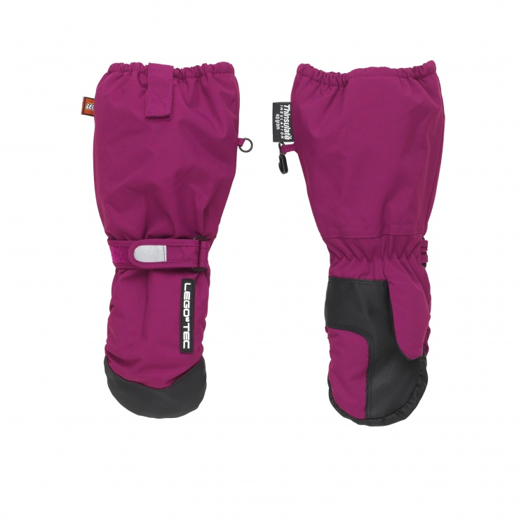 LEGO wear Arnold 611 Mittens with menbram LEGO wear Arnold 611 Mittens with menbram Farbe / color: dark fuchsia ()