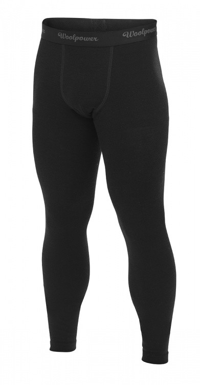 Woolpower Long Johns Mens Lite Woolpower Long Johns Mens Lite Farbe / color: black uni ()