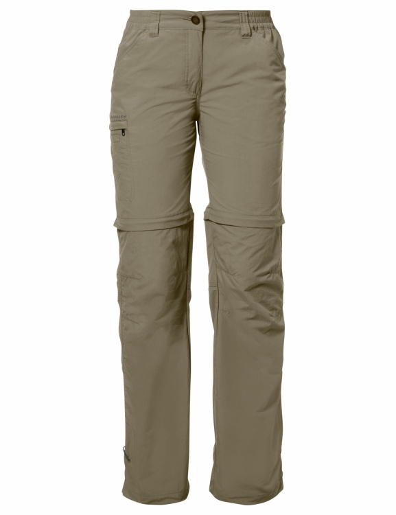 VAUDE Womens Farley Zip Off Pants IV VAUDE Womens Farley Zip Off Pants IV Farbe / color: muddy ()