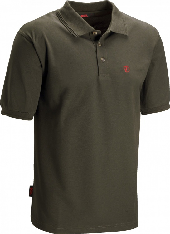 Fjällräven Crowley Pique Shirt Fjällräven Crowley Pique Shirt Farbe / color: dark olive ()
