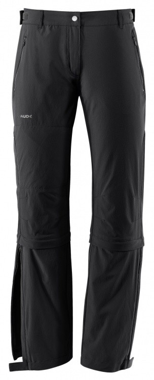 VAUDE Womens Farley Stretch Capri T-Zip II VAUDE Womens Farley Stretch Capri T-Zip II Farbe / color: black ()