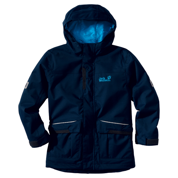 Jack Wolfskin Kids Hampton Parka Jack Wolfskin Kids Hampton Parka Farbe / color: night blue ()