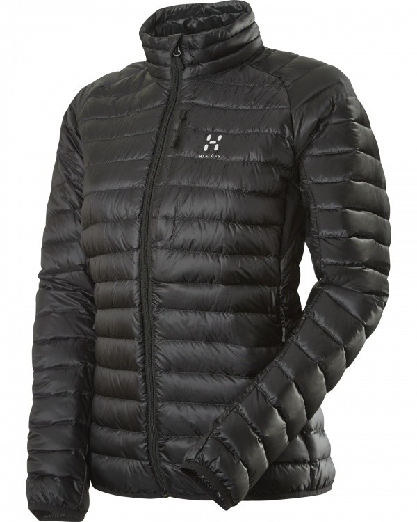 Haglöfs Essens II Down Jacket Women Haglöfs Essens II Down Jacket Women Farbe / color: true black/magnetite ()