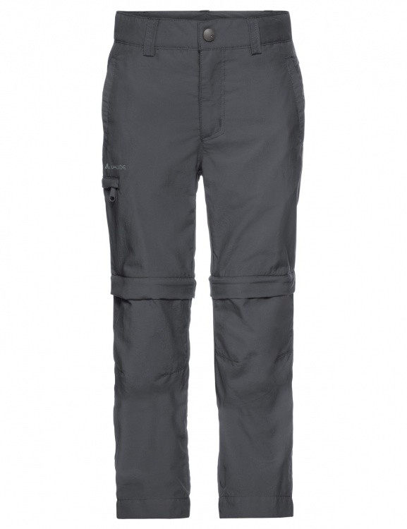 VAUDE Kids Detective ZO Pants II VAUDE Kids Detective ZO Pants II Farbe / color: iron ()