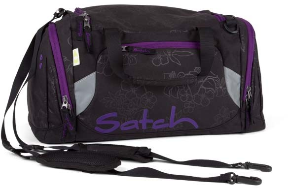Fond of Bags satch Sporttasche Fond of Bags satch Sporttasche Farbe / color: Purple Hibiscus ()