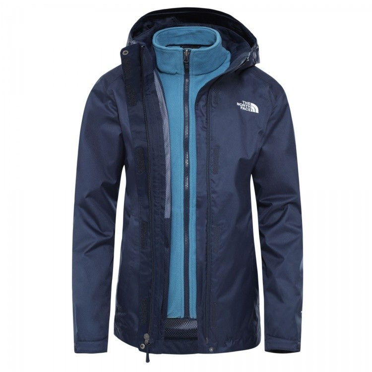 The North Face Womens Evolve II Triclimate Jacket The North Face Womens Evolve II Triclimate Jacket Farbe / color: urban navy/mallard blue ()