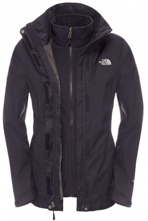 The North Face Womens Evolve II Triclimate Jacket The North Face Womens Evolve II Triclimate Jacket Farbe / color: TNF black/TNF black ()