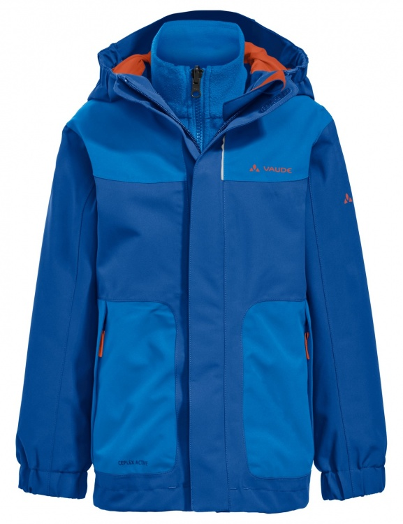 VAUDE Kids Campfire 3in1 Jacket IV VAUDE Kids Campfire 3in1 Jacket IV Farbe / color: signal blue ()
