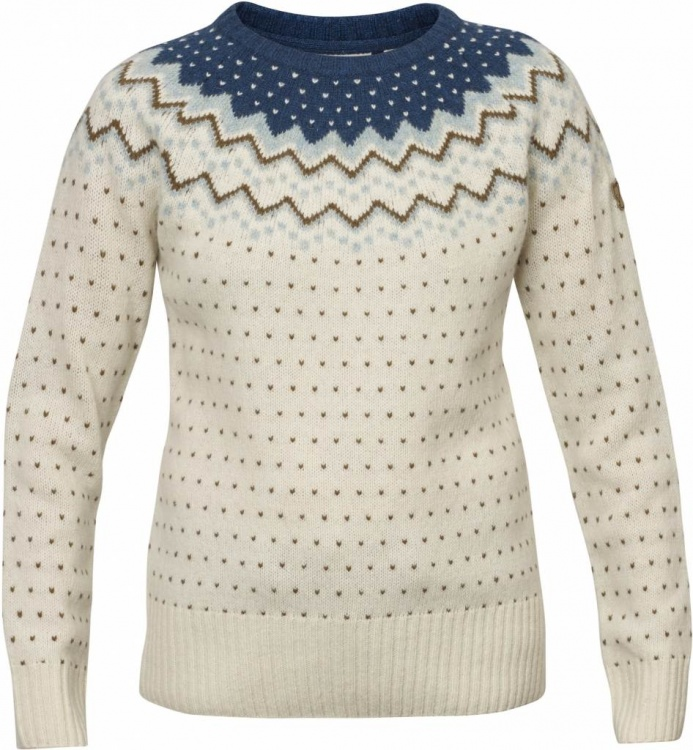 Fjällräven Övik Knit Sweater Women Fjällräven Övik Knit Sweater Women Farbe / color: glacier green ()