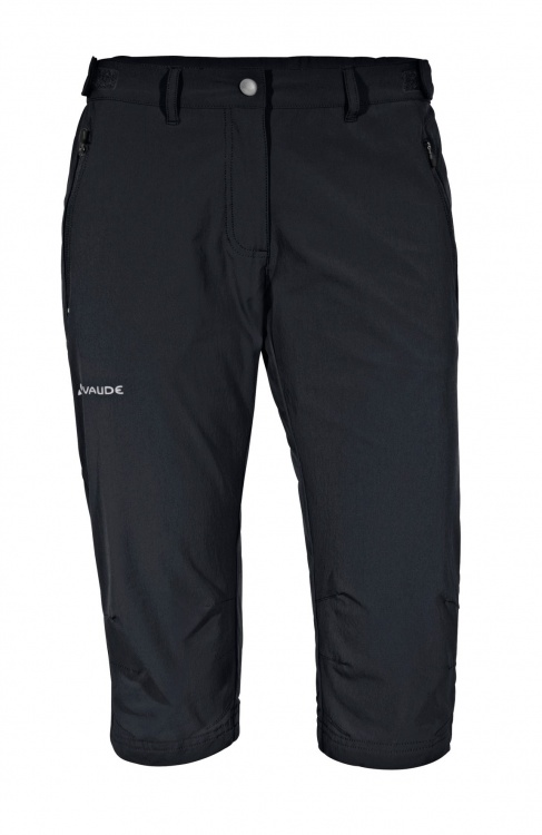 VAUDE Womens Farley Stretch Capri II VAUDE Womens Farley Stretch Capri II Farbe / color: black ()