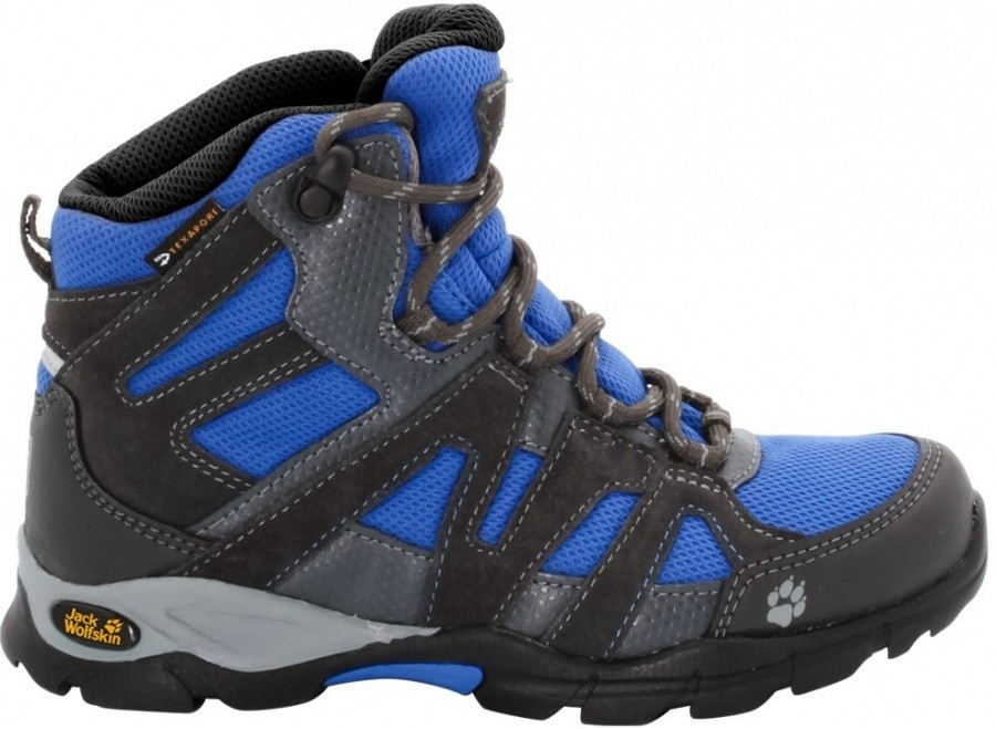 Jack Wolfskin Boys Volcano Mid Texapore Jack Wolfskin Boys Volcano Mid Texapore Farbe / color: classic blue ()