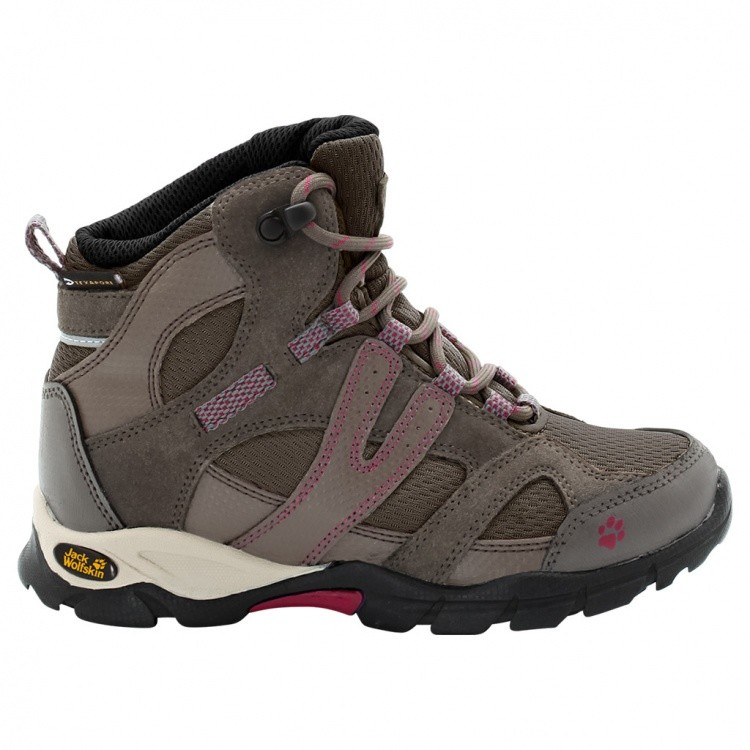 Jack Wolfskin Girls Volcano Mid Texapore Jack Wolfskin Girls Volcano Mid Texapore Farbe / color: pale cherry ()